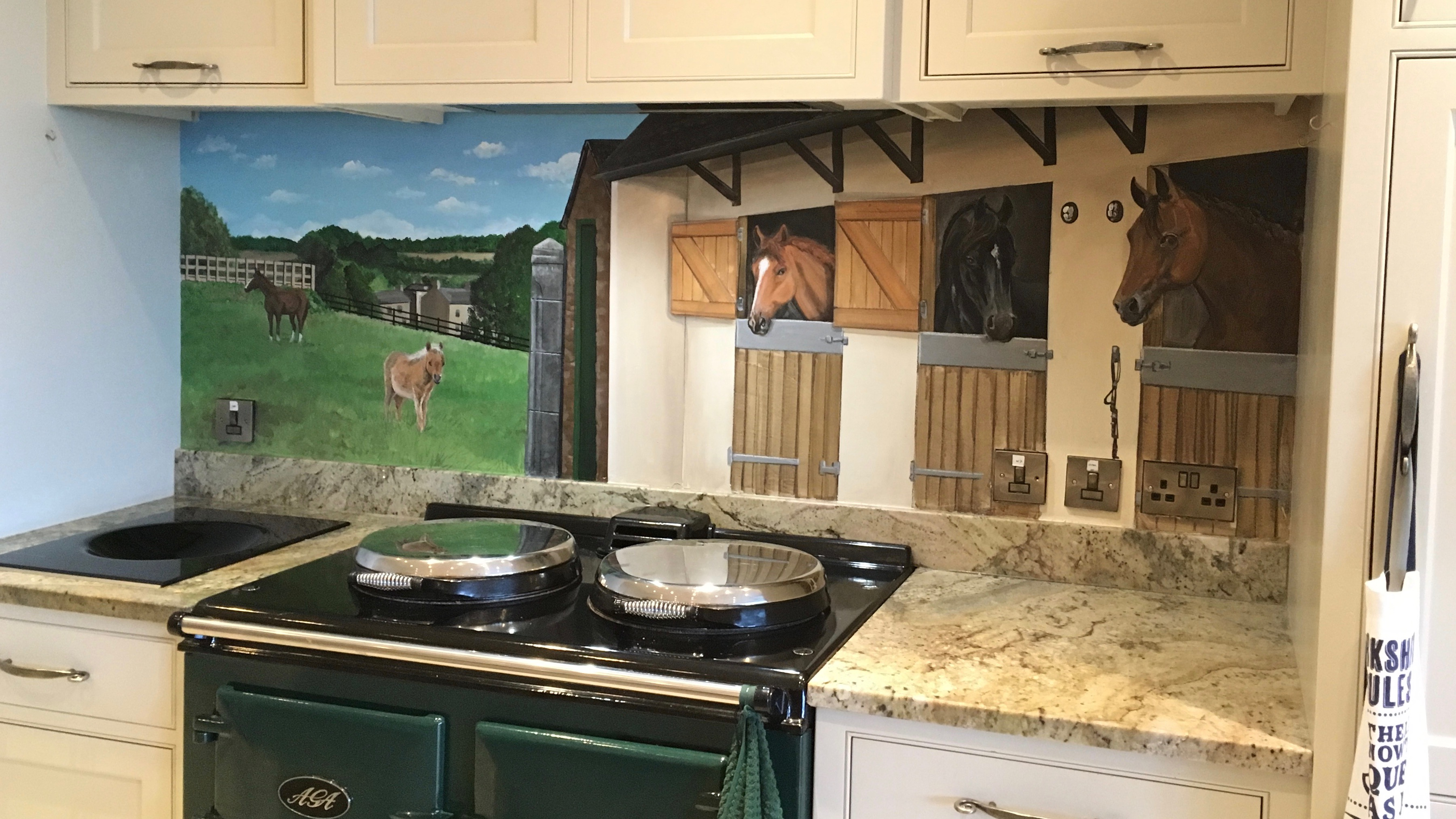 Aga Stables Backsplash