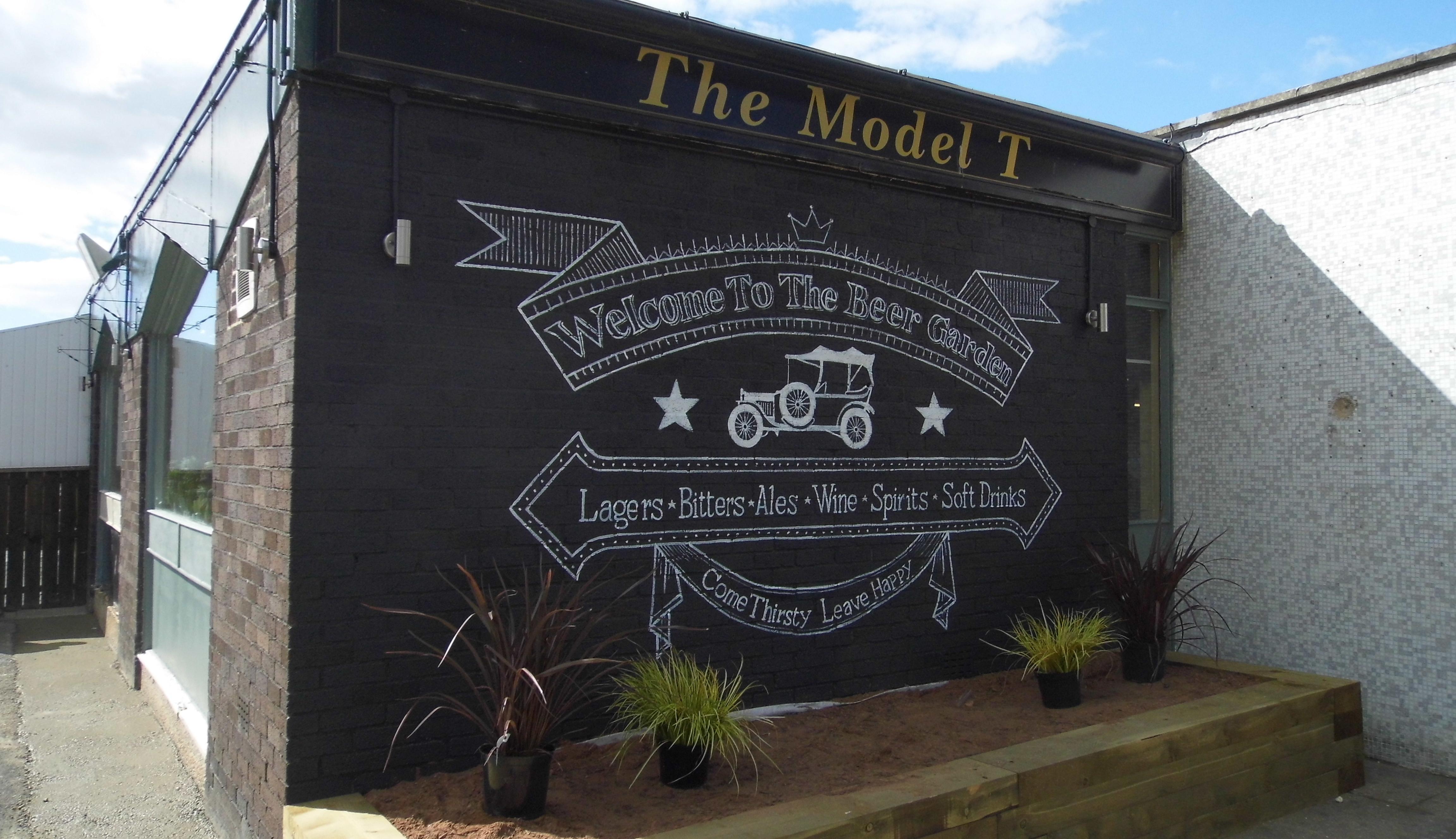Beer Garden Wall Mural