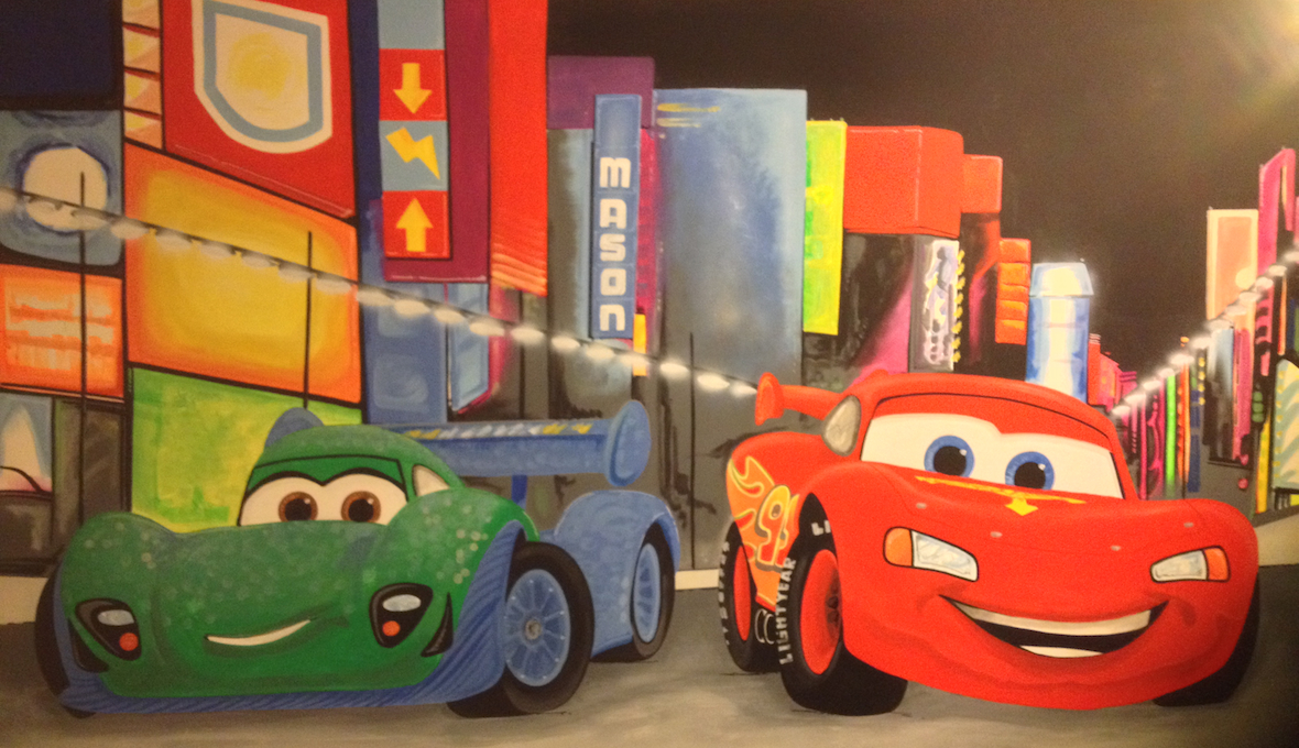 Cars 2 ~ Lightning McQueen and Francesco