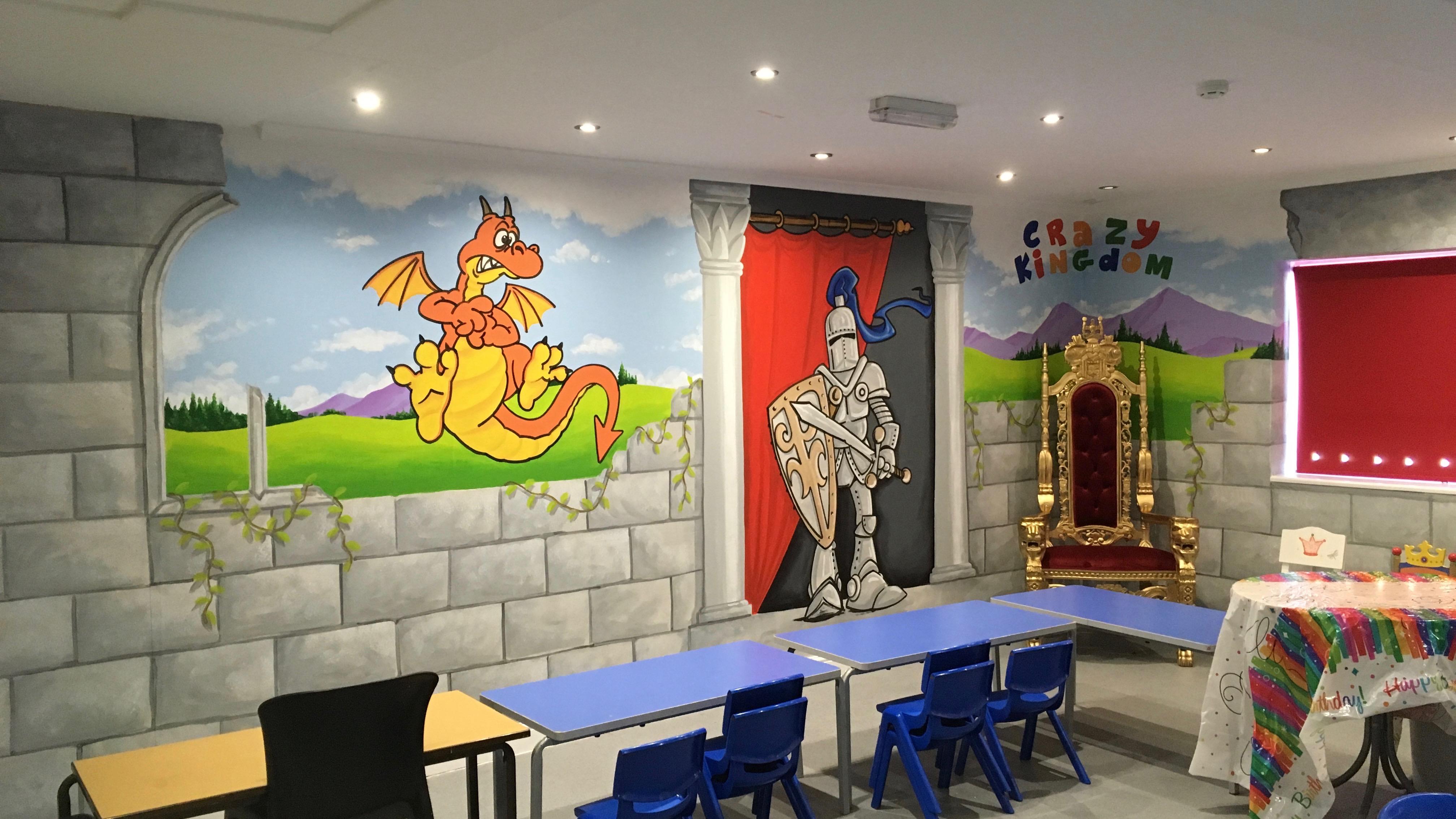 Crazy Kingdom Northallerton Party Room