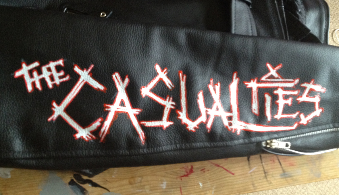 The Casualties ~ Leather Jacket
