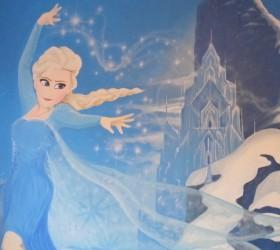 Frozen Elsa Kids Bedroom Mural