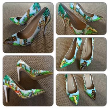 Custom Painted Gruffalo Shoes