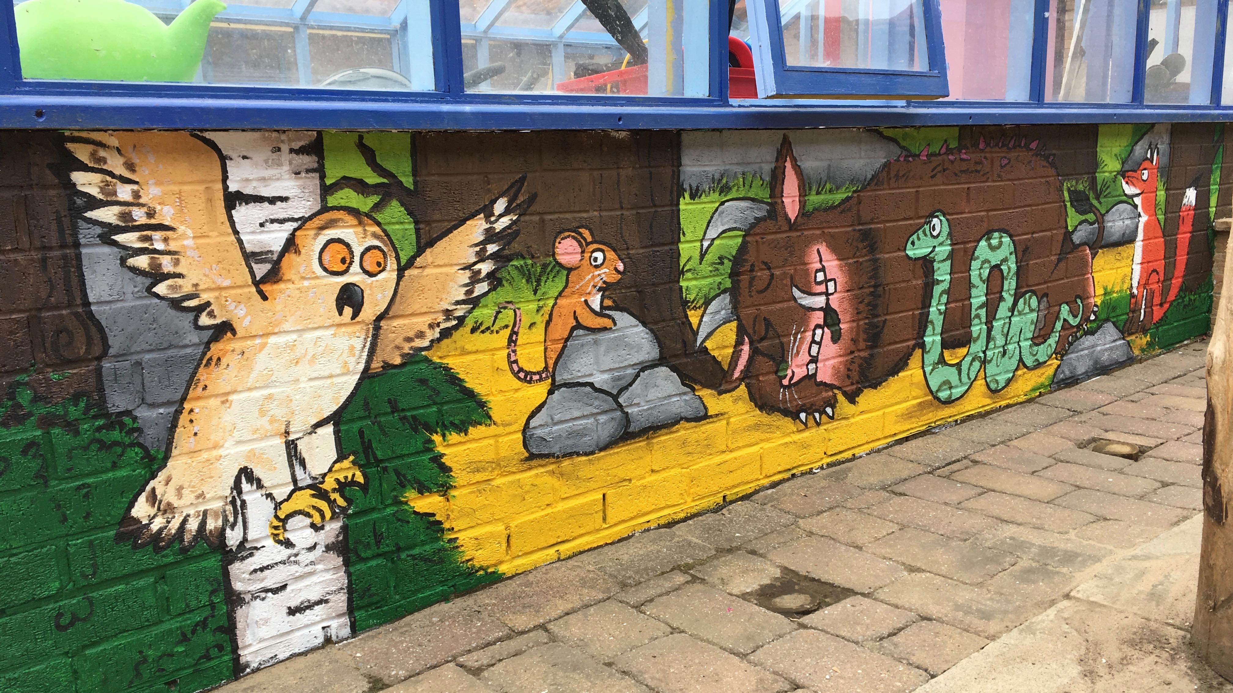 Gruffalo Mural ( Walworth School )