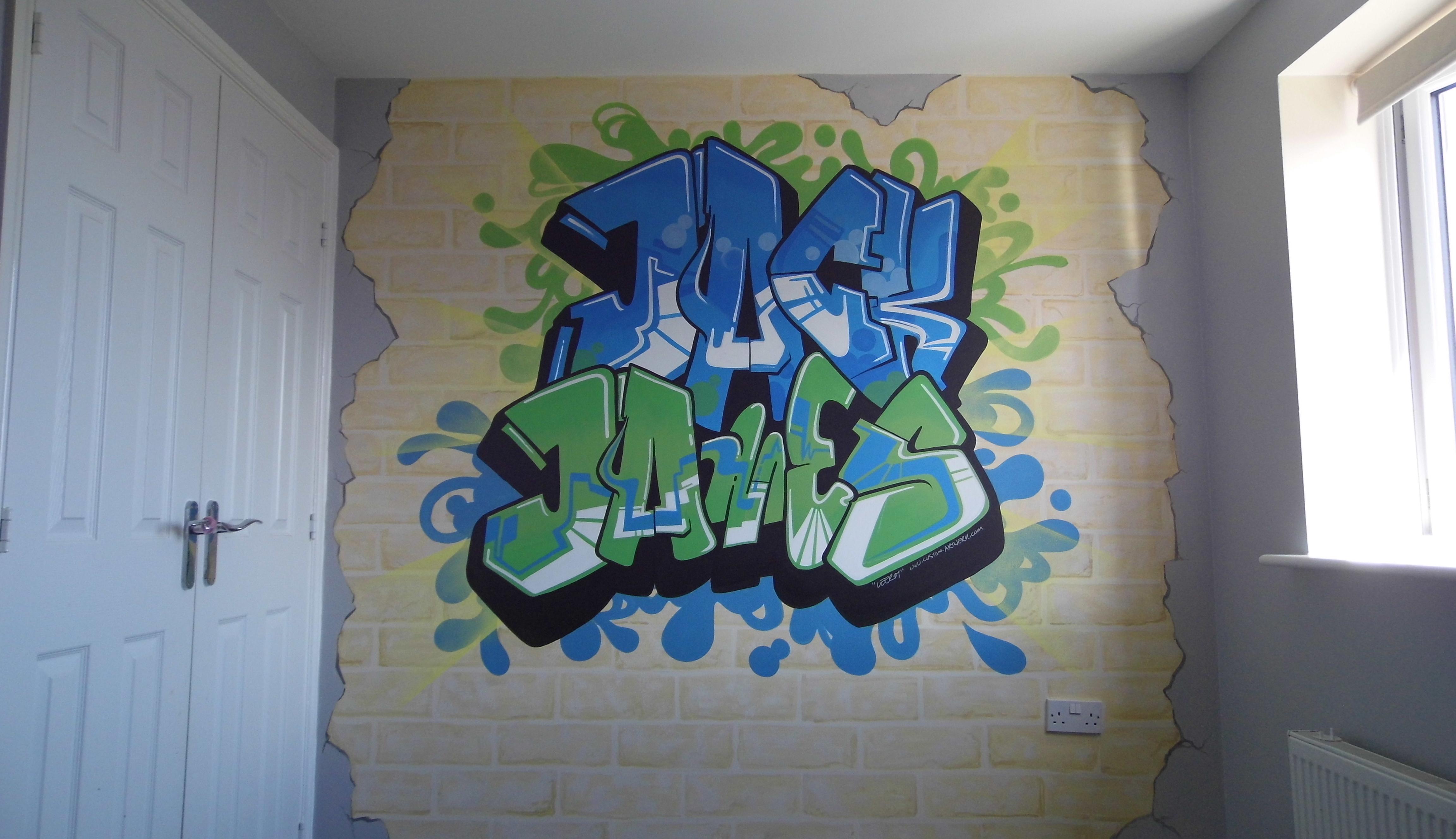 Jack & James Graffiti