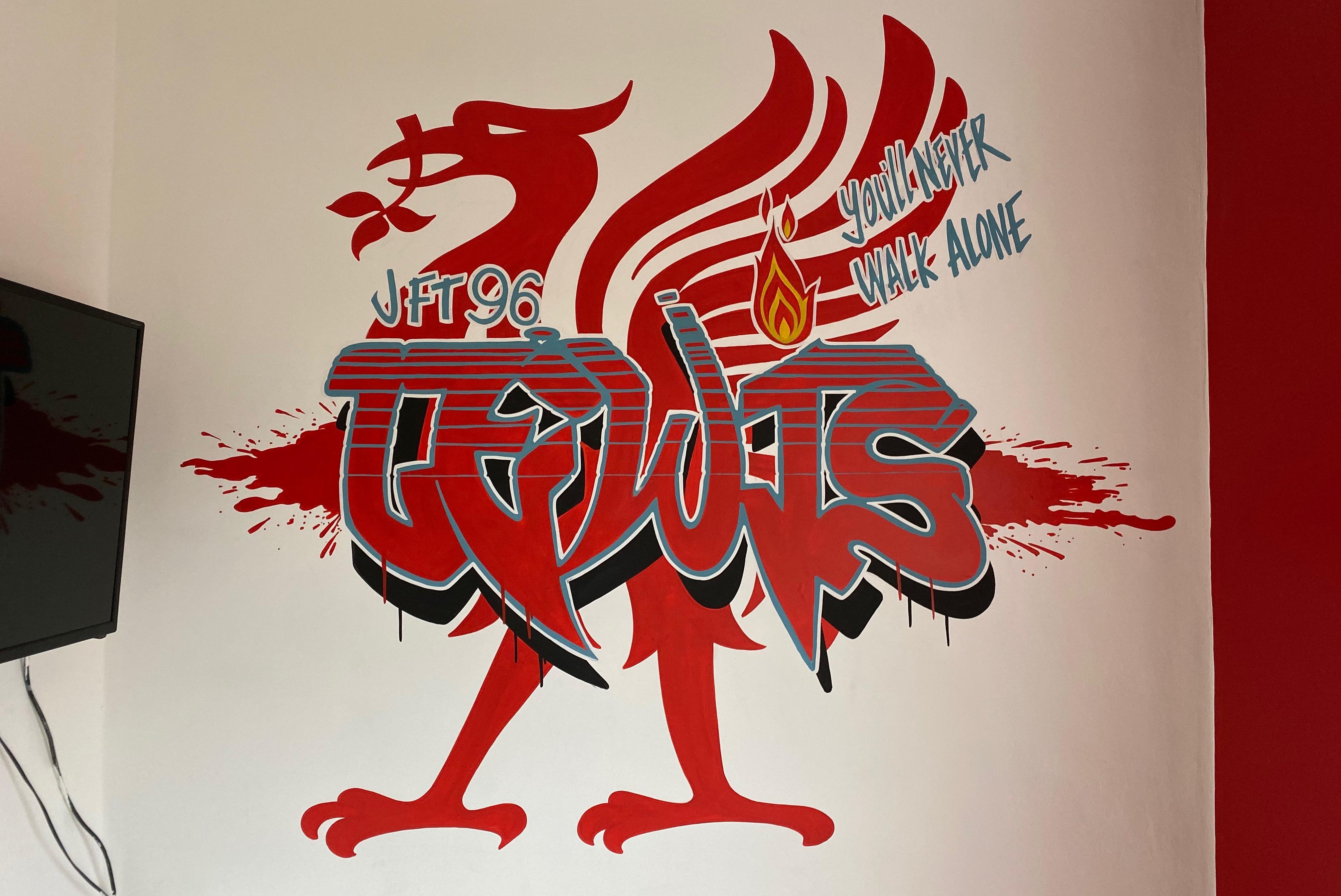 Lewis Liverpool Graffiti