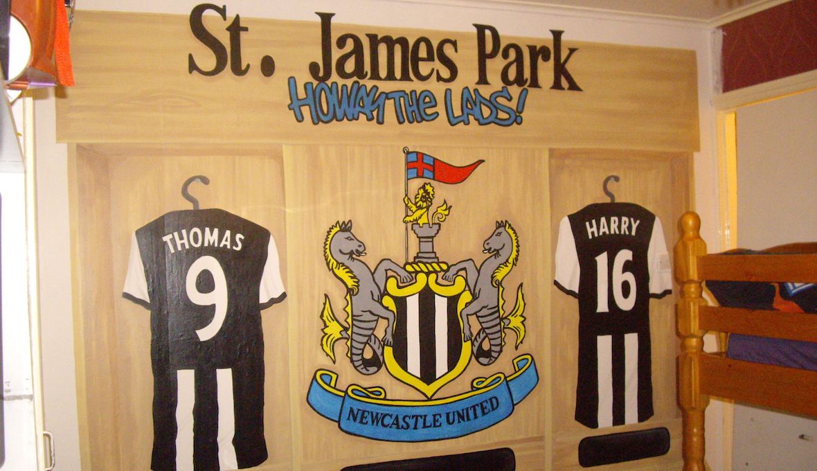 Newcastle United Locker Room