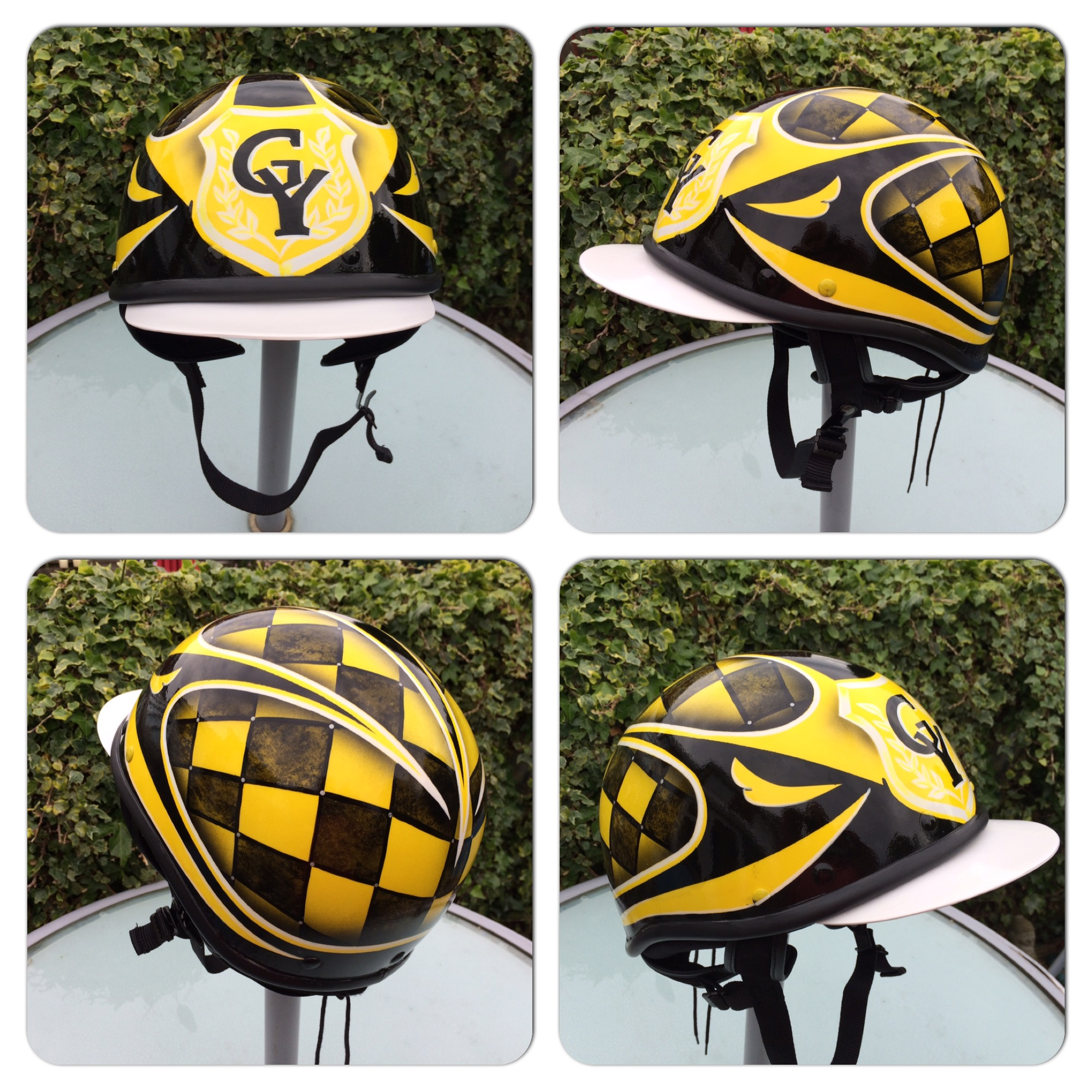 Racing Helmet Custom