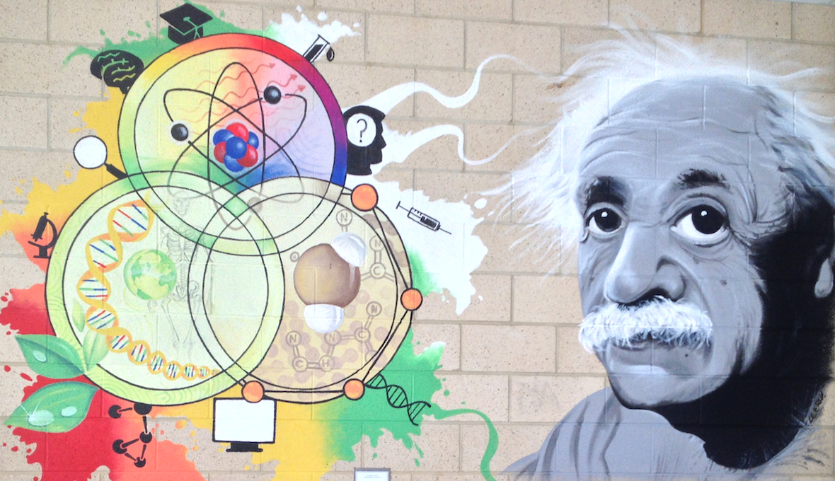 School Science Department ~ Einstein