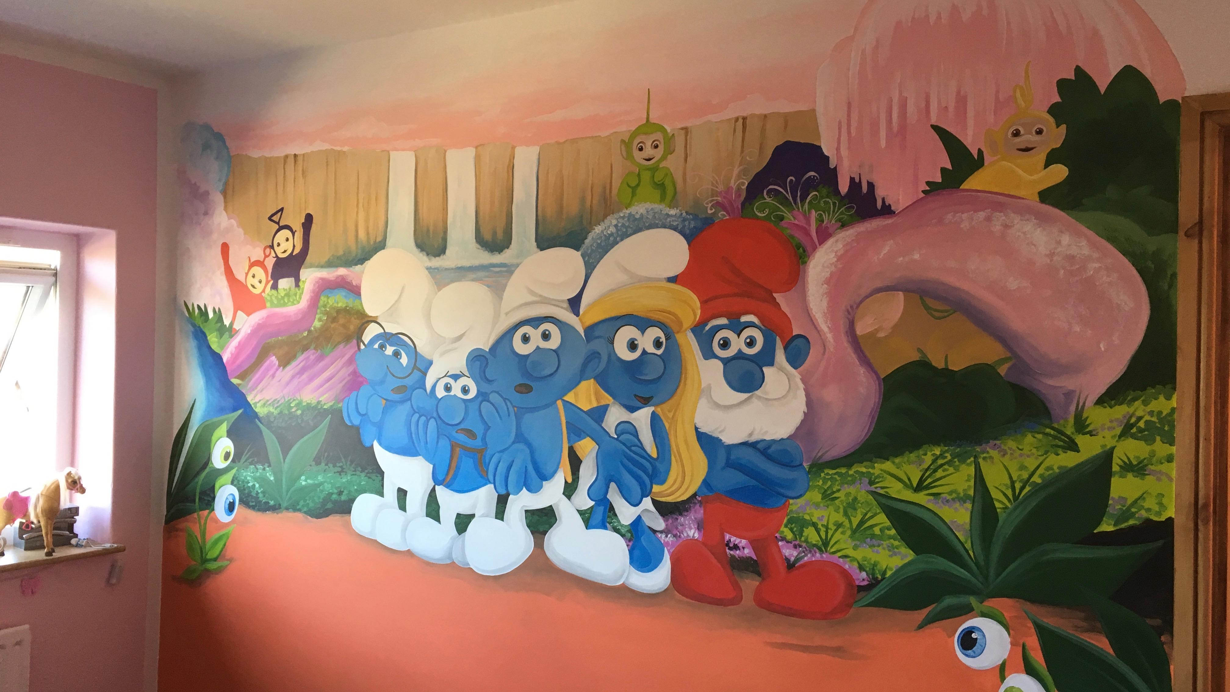 Smurph's Mural