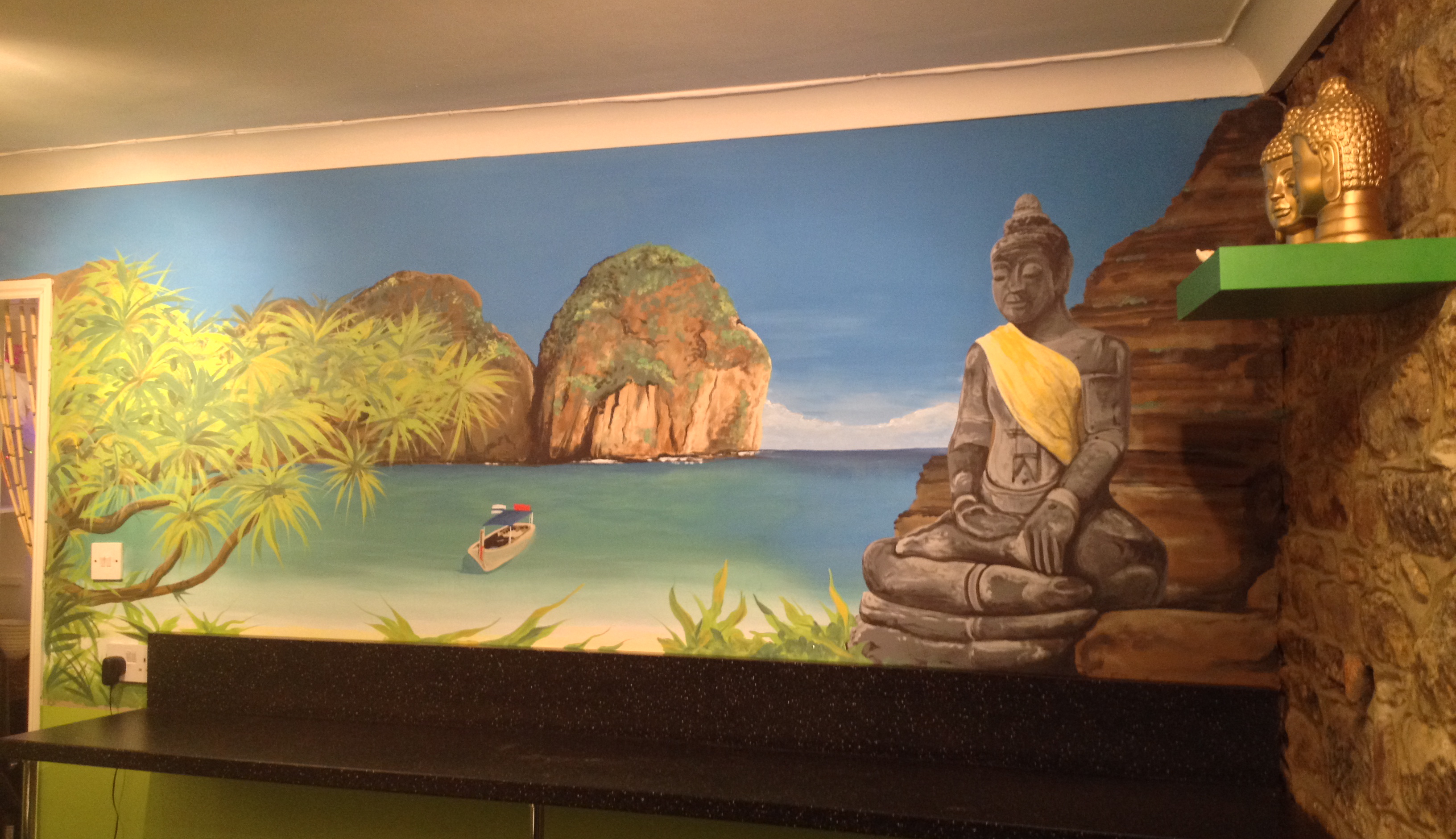 Thai Restaurant Wall Mural