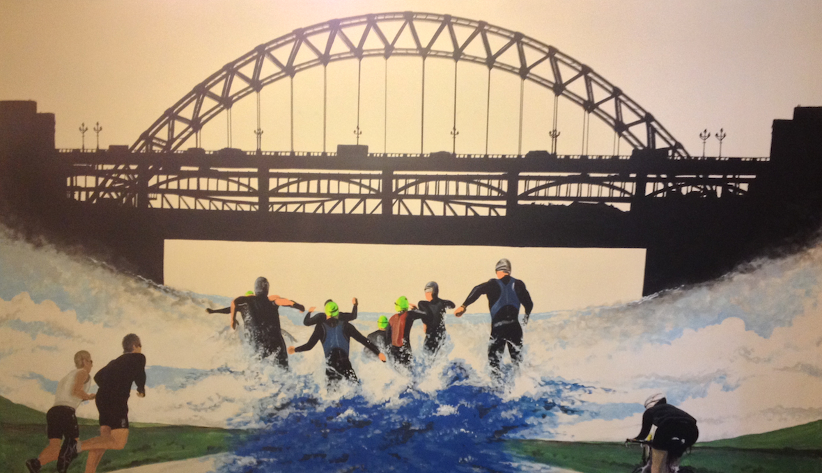 Tyne Bridge Triathlete