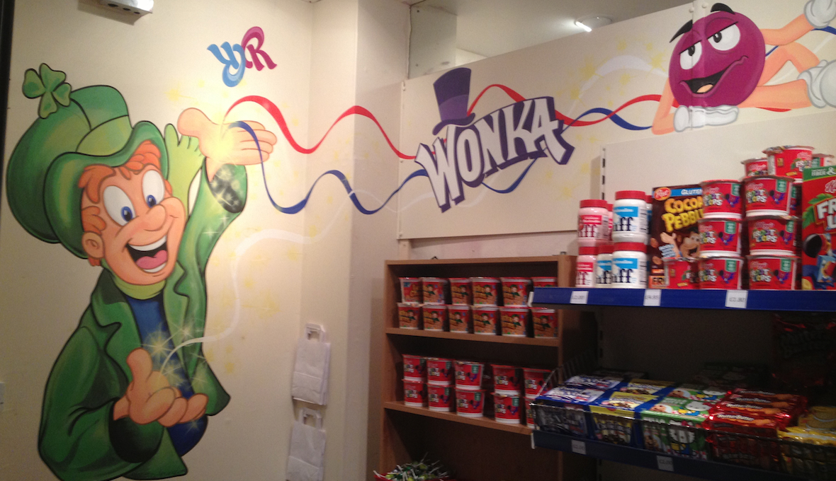 Willy Wonka Sweet Shop