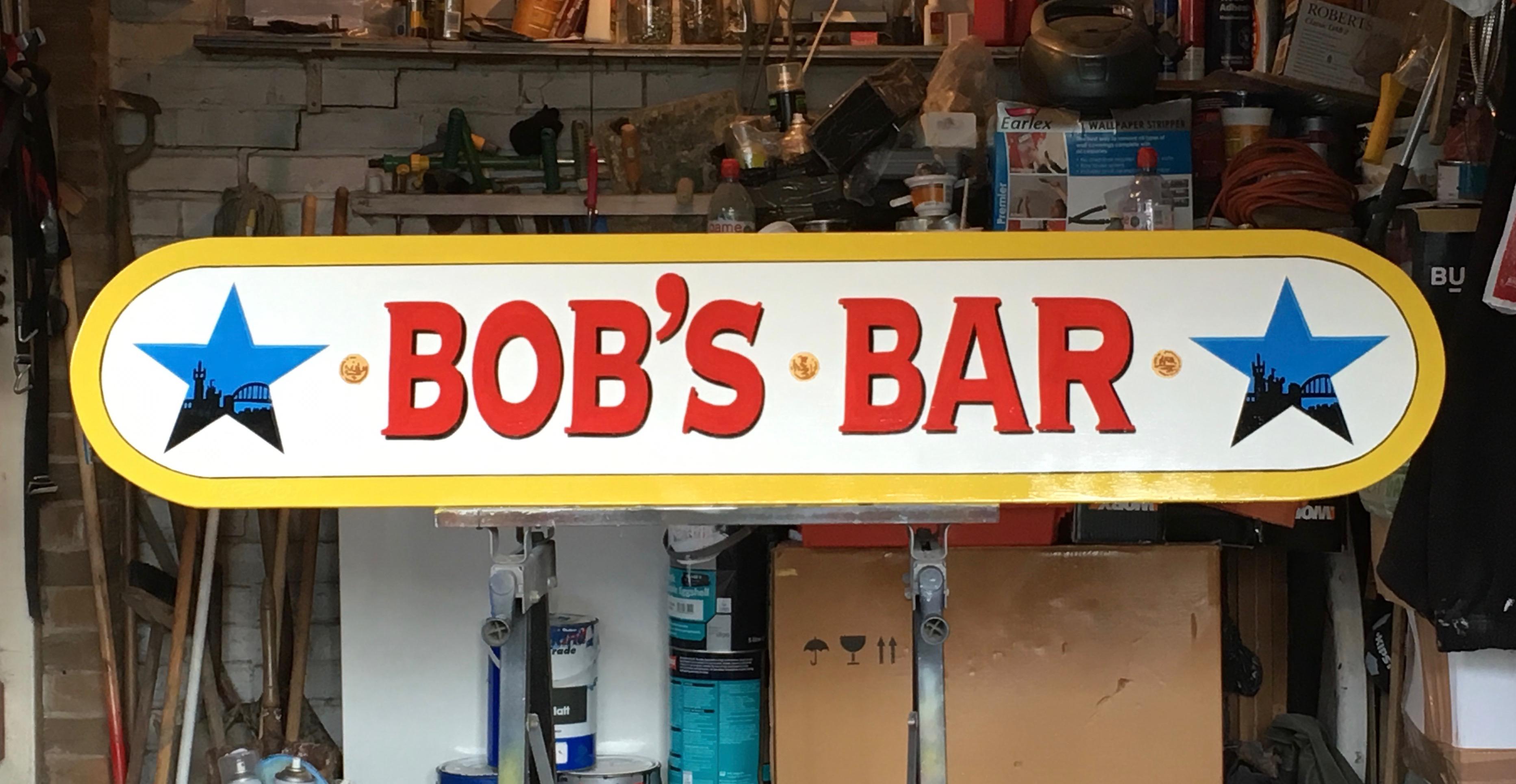 Bob' Bar Sign