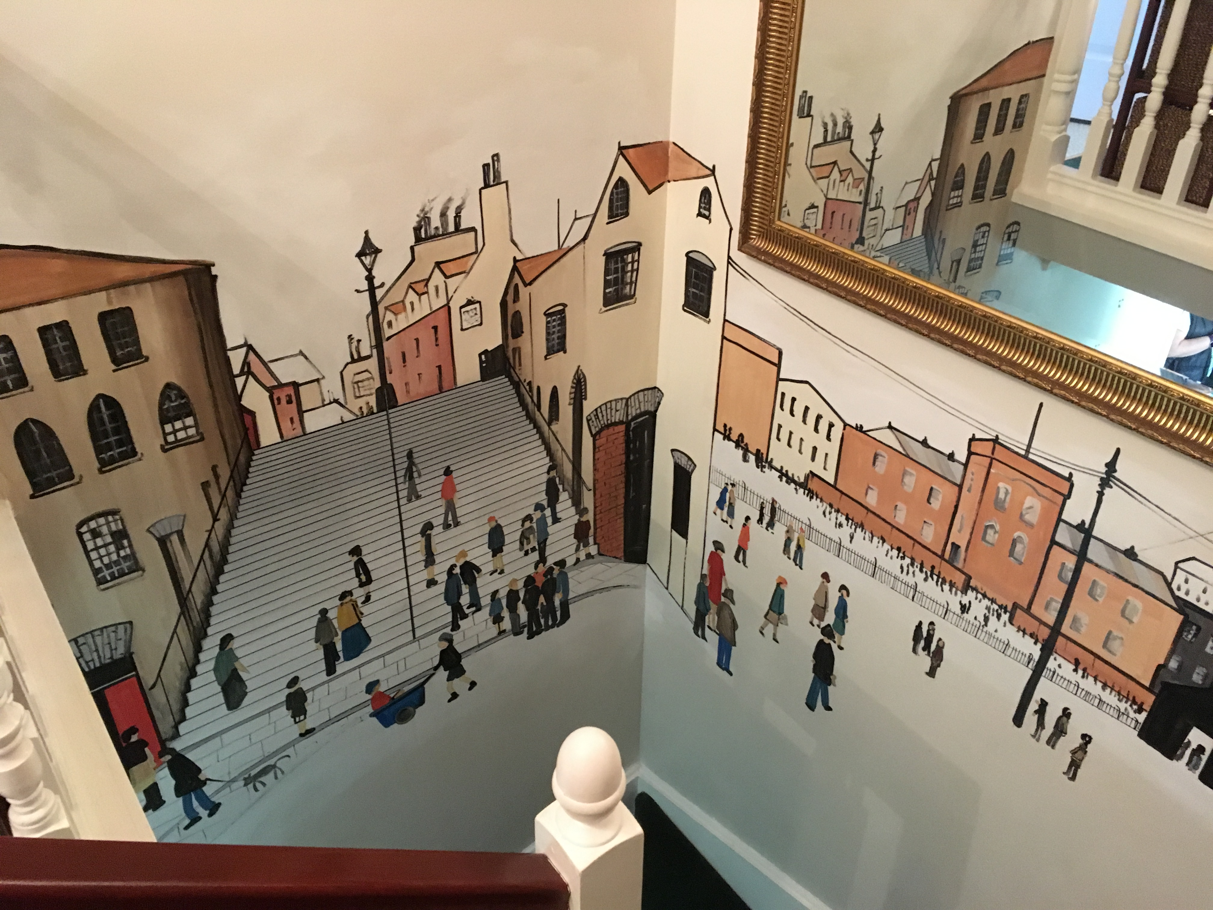 Lowry Staircase Mural