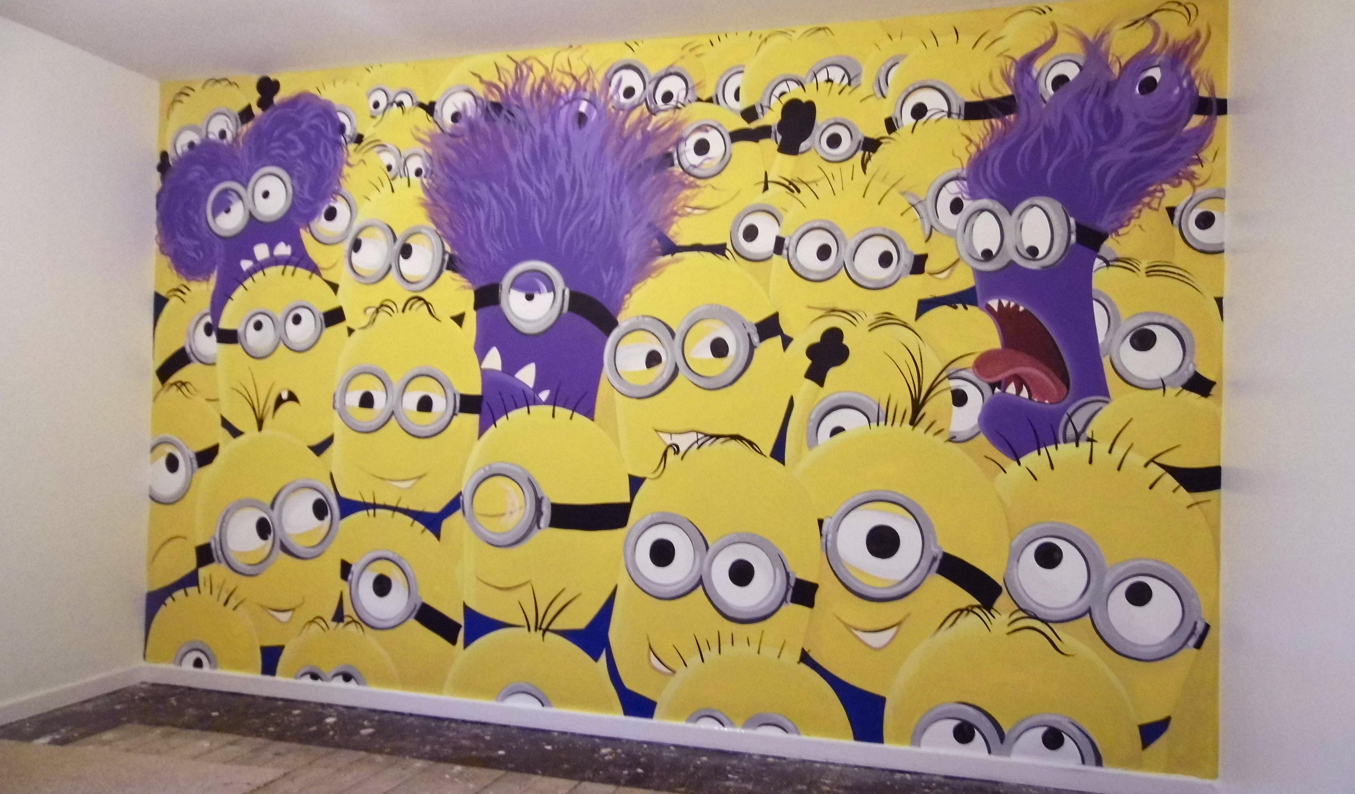 Minions Wall Mural