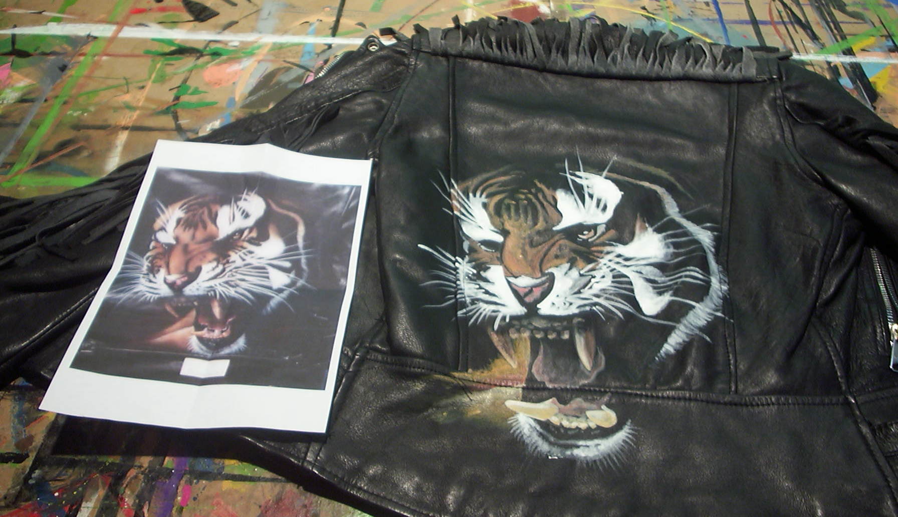 Tiger Jacket Art